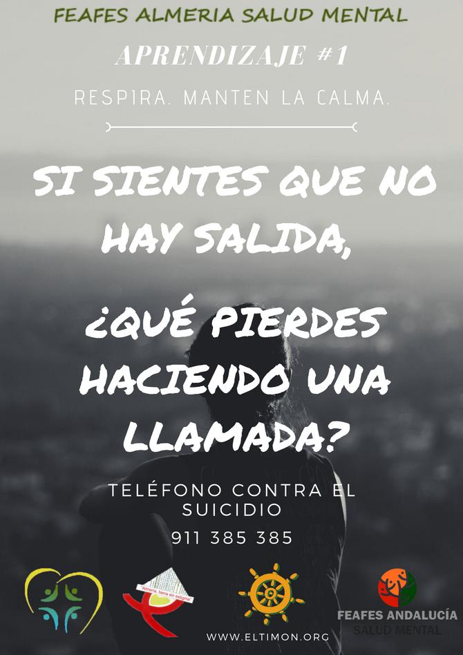 APOYO CONTRA EL SUICIDIO