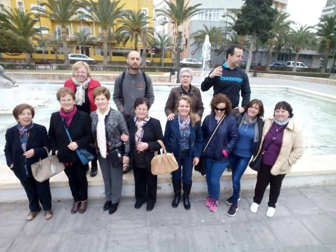 Salida de los Familiares de la Asociació a la Alcazaba de Almería