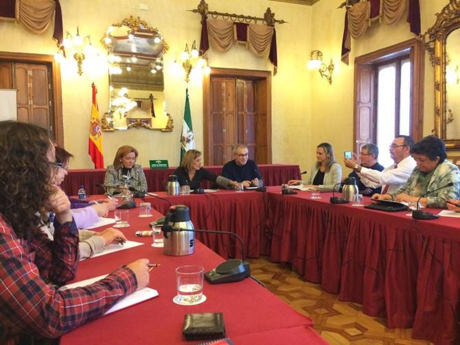 Reunión con Delegación del Gobierno