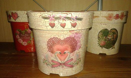 Maceteros de San Valentín