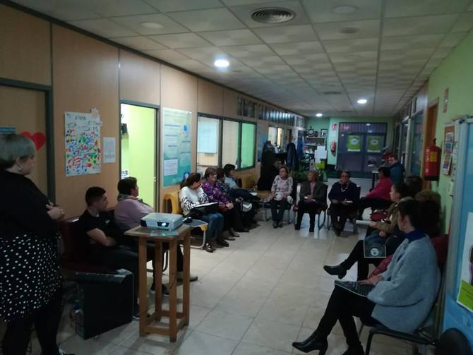 Presentación de Programas a familias