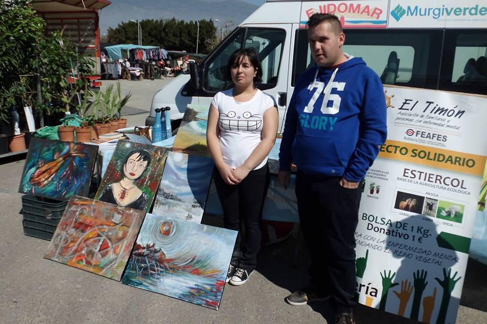Ahora contamos con los cuadros de nuestra artísta del Club Social Romina