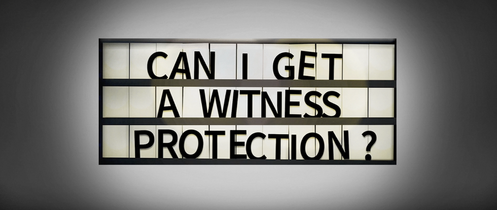 """Trailer- """"Can I Get a Witness Protection"""""""