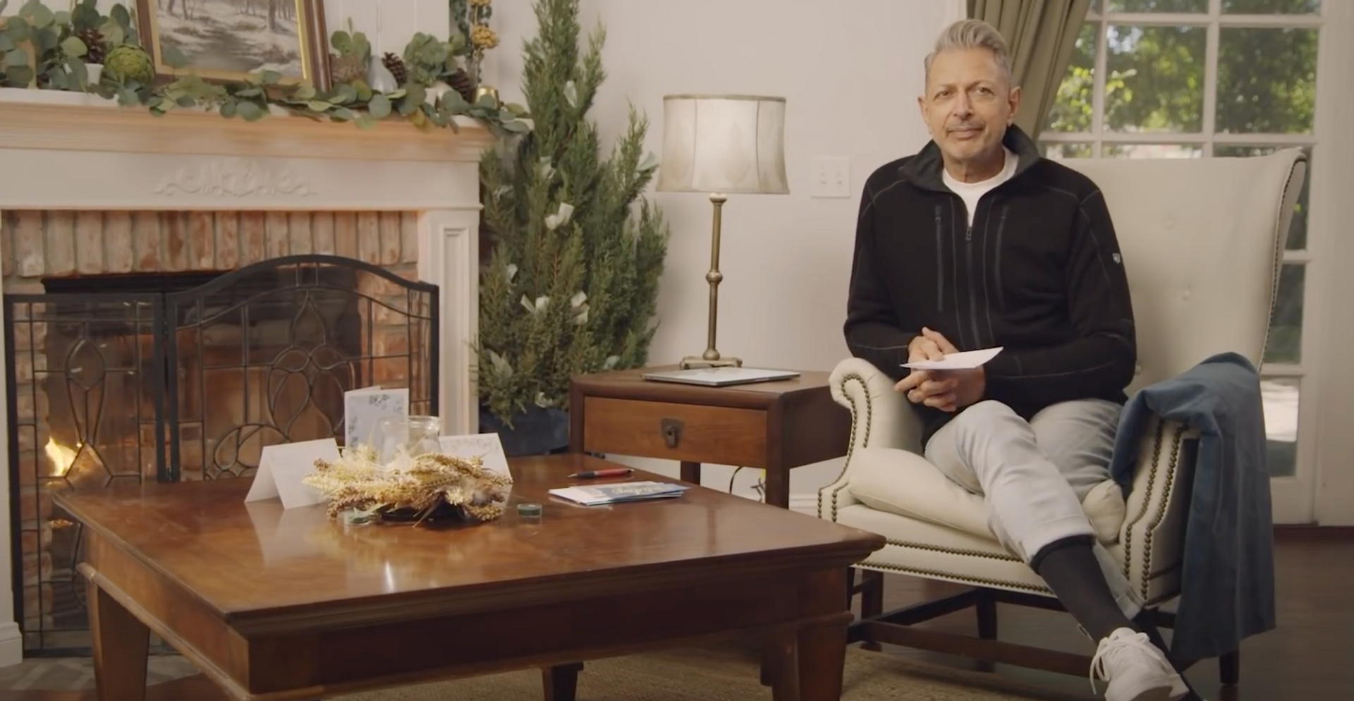 "Jeff Goldblum ""Cooking with Kroger"""