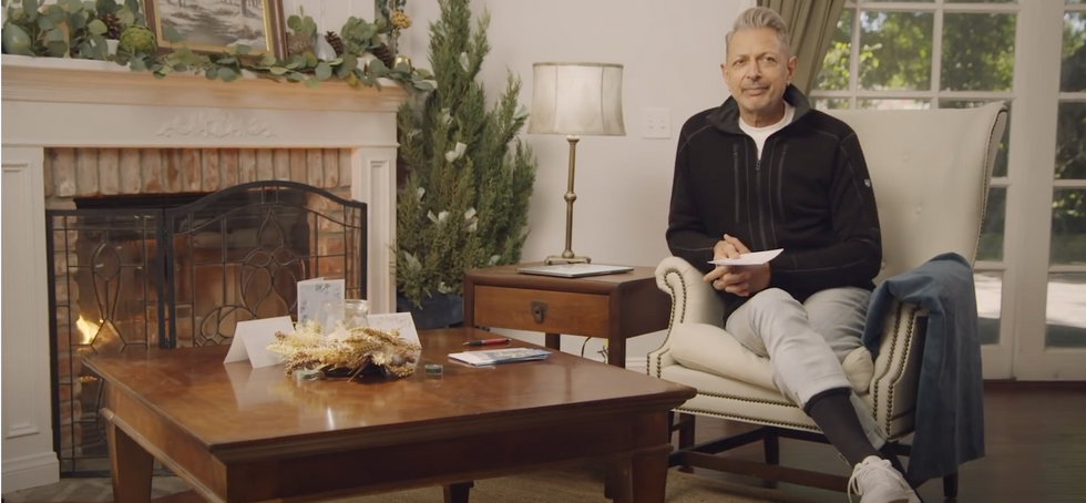 "Jeff Goldblum ""Cooking with Kroger"""