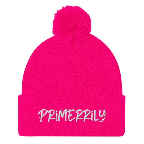 Primerrily, Pom-Pom Beanie