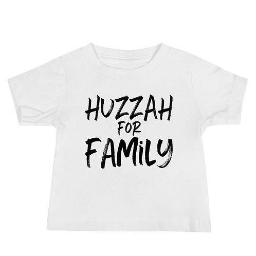Huzzah for Family, Baby Tee