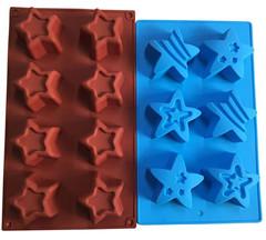 Star Crayon, Soap, or Dessert Silicon Mo