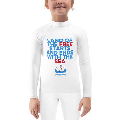 Land of the Free, Kids Rash Guard