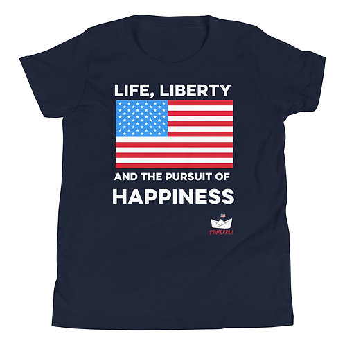 Life, Liberty Shirt, Youth