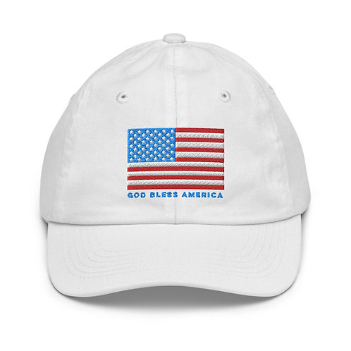 God Bless America, Youth Baseball Cap