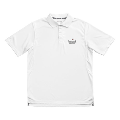 Logo Embroidered Performance Polo, Men's