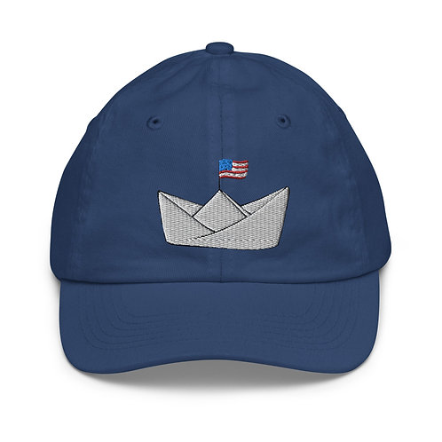 Logo Baseball Hat, Youth