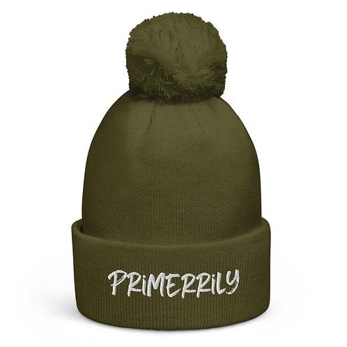Primerrily, Adult Pom Pom beanie