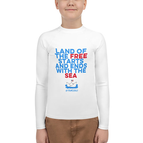 Land of the Free, Youth Rash Guard