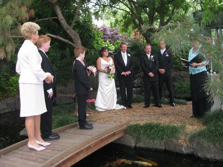 Wedding Ceremony held at Campbelltown Arts Centre