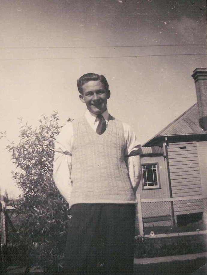 Pat as a young man