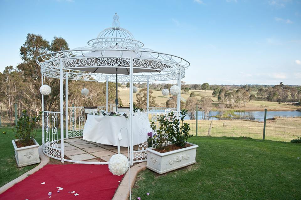 A late afternoon wedding in the month of September