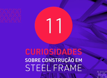 11 curiosidades sobre construção em Steel Frame
