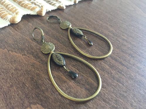 Boucles d'oreilles Antik