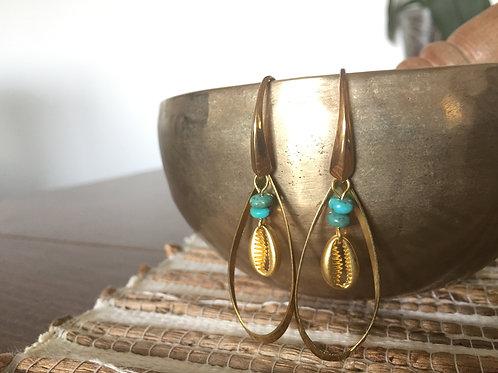 Boucles d'oreilles Marjolaine