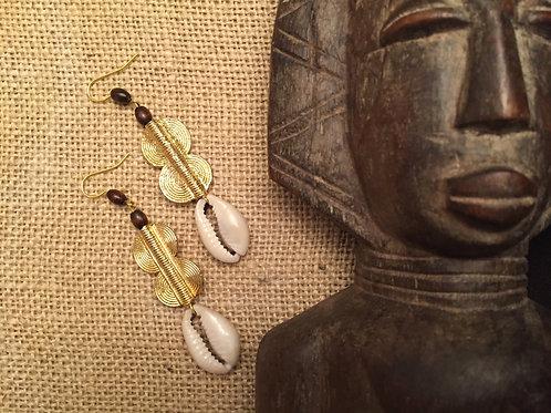 Boucles d'oreilles Baoulé