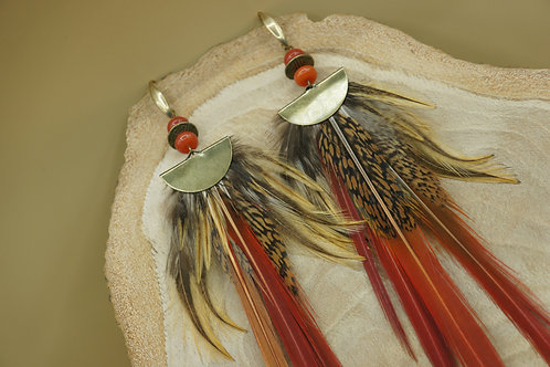 Boucles d'oreilles Tekoa