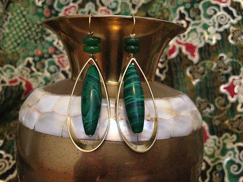 Boucles d'oreilles Gota elegancia