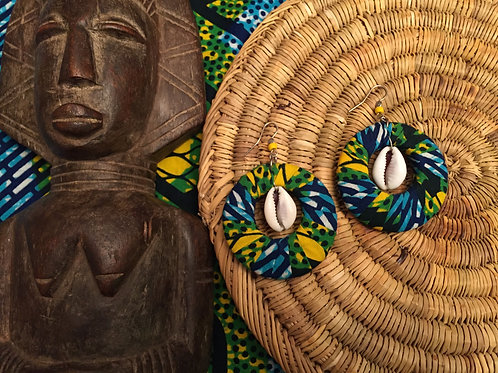 Boucles d'oreilles Afrika