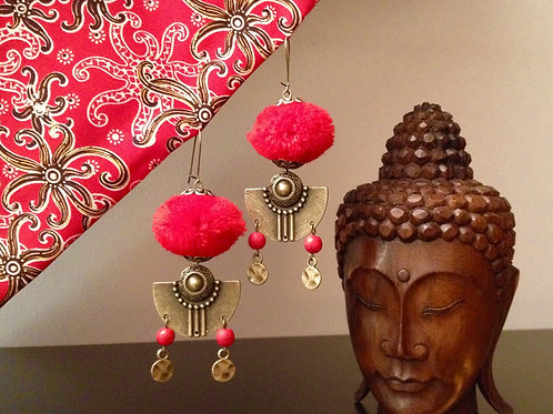 Boucles d'oreilles Ina Bali