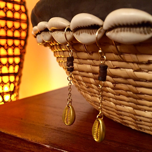 Boucles d'oreilles Zanzibar - Vermeil