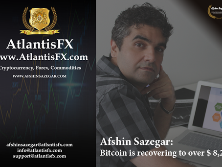 Afshin Sazegar | Bitcoin is recovering to over $ 8,200