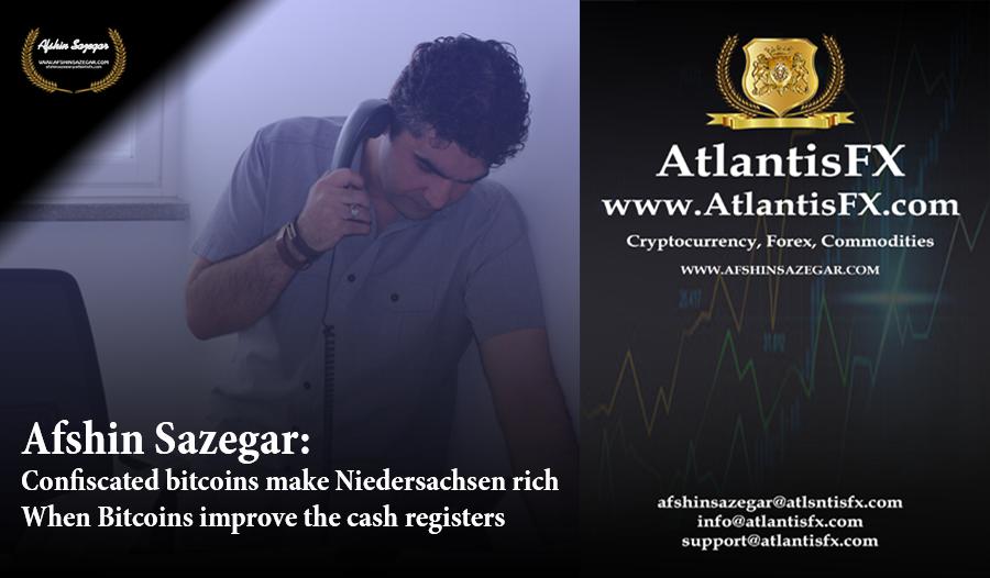 Afshin Sazegar | Confiscated bitcoins make Niedersachsen rich