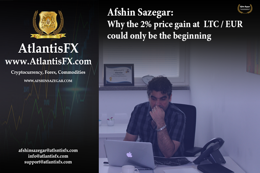 Afshin Sazegar | Why the 2% price gain at LTC/EUR could only be the beginning