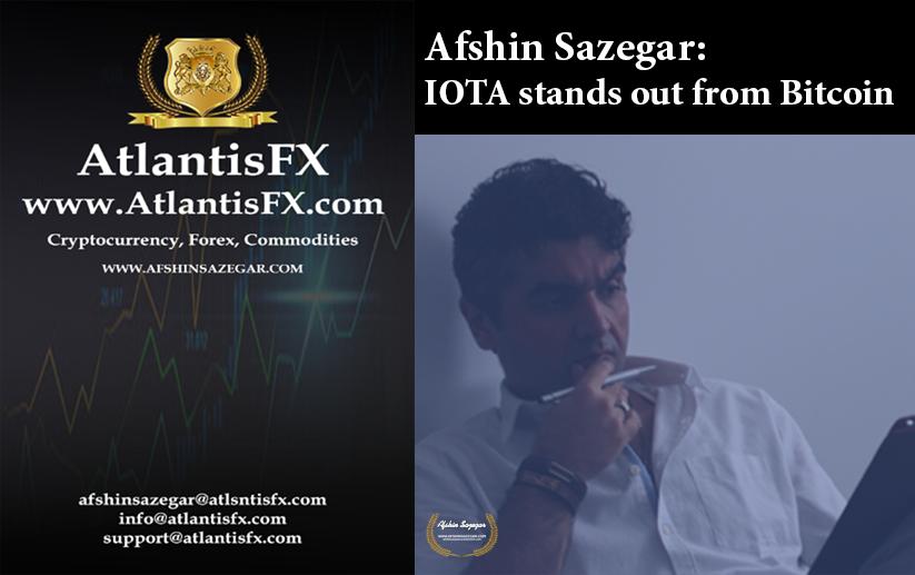 Afshin Sazegar | IOTA stands out from Bitcoin