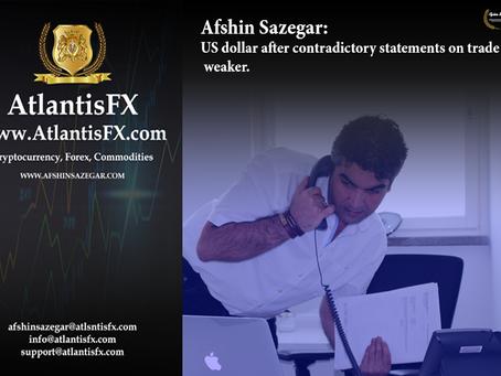 Afshin Sazegar | US dollar after contradictory statements on trade weaker