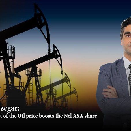 Afshin Sazegar | Development of the oil price boosts the Nel ASA share.