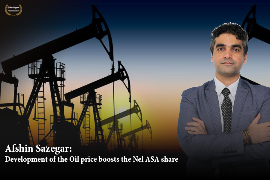 Afshin Sazegar   Development of the oil price boosts the Nel ASA share.