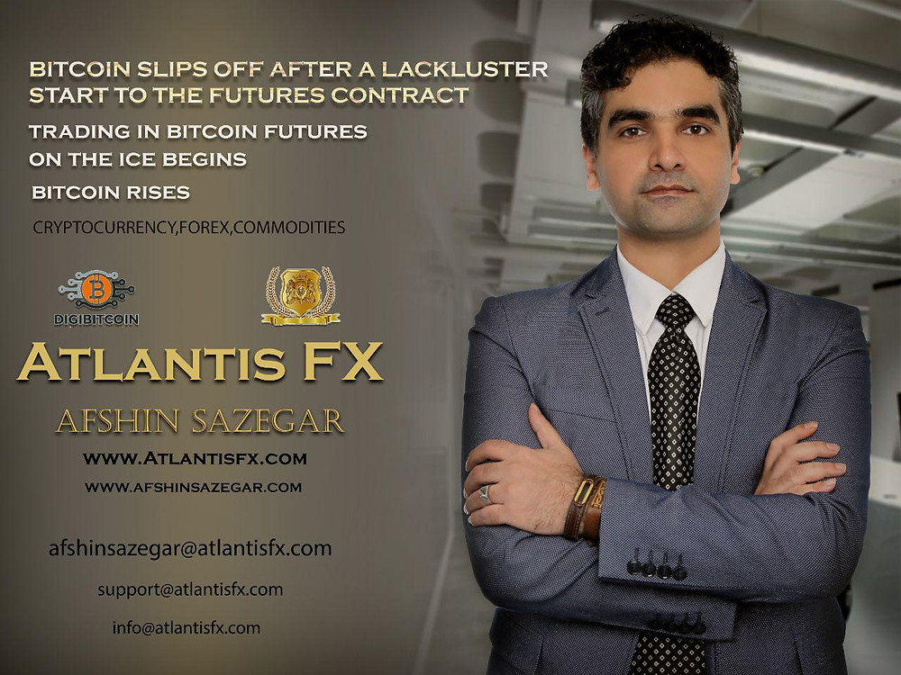 Afshin Sazegar | Bitcoin slips off after a lackluster start to the futures contract