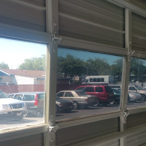 Commercial and residential window tint