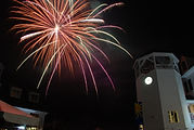 fireworks in Waterville Valey