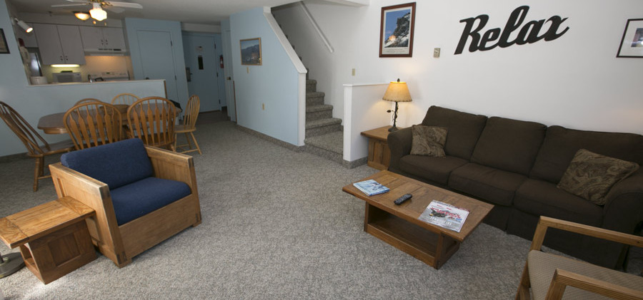 Living Room (example - all units are individually owned and furnished)