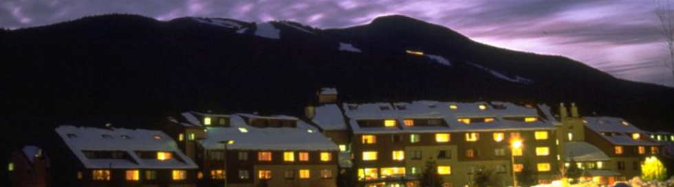 In 1985, the Waterville Company completed one of its most ambitious projects to date, the all suite hotel, Black Bear Lodge. With 107 fully owned condominiums, the Black Bear raised the bar for the exceptional quality, spacious comfort and convenience that vacationers had come to expect from a world class resort. Shortly after, the resort's main village was completed with the construction of Town Square, the hub of Waterville Valley.