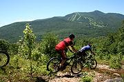 mountain biking in Waterville Valley