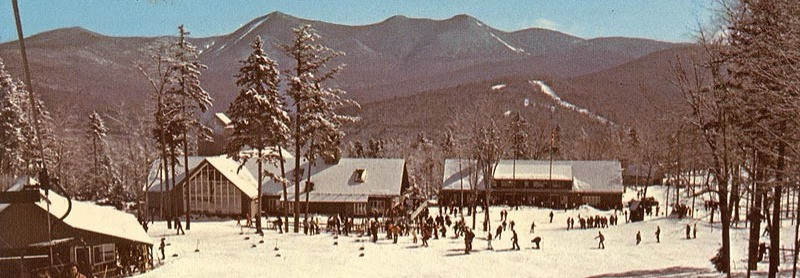 After World War II, a small ski lift was built behind the inn, ushering in a new chapter in Waterville Valley's storied past. Visitors were drawn to its winter offerings as well, and in 1965, the Waterville Company, Inc., headed by former olympic skier Tom Corcoran, was formed. Tom oversaw the expansion of the resort to include the Mt. Tecumseh Ski Area, soon host to numerous celebrity races and World Cup events.