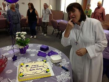 First anniverasry of Pastor Lesley Abrams at St John on the Desert Church