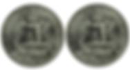 Just 50 cent quarters logo