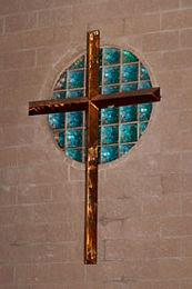 Sanctuary Cross at St John on the Desert