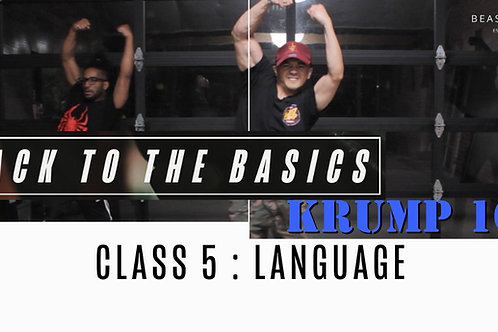 Back to the Basics: Class 5