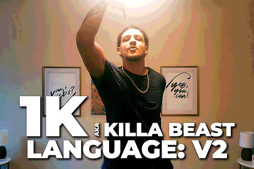 Language V2 | 1K aka Killa Beast